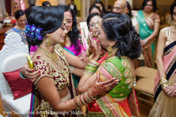 Emotional moment in this beautiful indian wedding ceremony in Brampton, ON Indian Wedding by Irvin Sidhu Fine Art Photography Studio