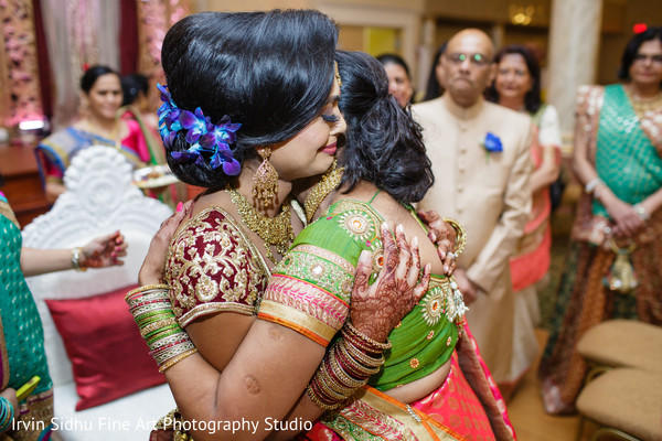 Emotional moment in indian wedding ceremony in Brampton, ON Indian Wedding by Irvin Sidhu Fine Art Photography Studio