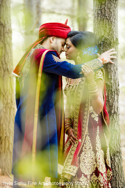 Romantic indian couple portrait in Brampton, ON Indian Wedding by Irvin Sidhu Fine Art Photography Studio