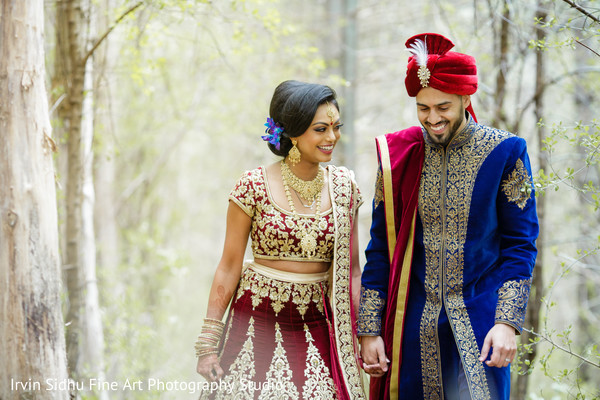 Maharani with the Raja of her dreams in Brampton, ON Indian Wedding by Irvin Sidhu Fine Art Photography Studio