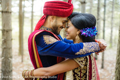 Lovely Indian couple portrait