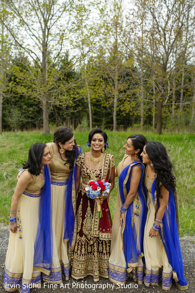 Look at the beautiful maharani in Brampton, ON Indian Wedding by Irvin Sidhu Fine Art Photography Studio