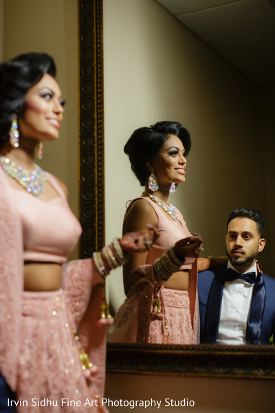 Indian couple making the perfect match in Brampton, ON Indian Wedding by Irvin Sidhu Fine Art Photography Studio