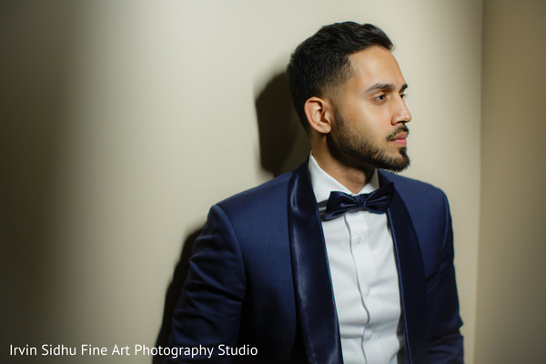 Groom Getting Ready for the Wedding Ceremony in Brampton, ON Indian Wedding by Irvin Sidhu Fine Art Photography Studio