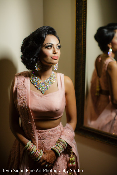 Indian Bride wearing beautiful jewelry in Brampton, ON Indian Wedding by Irvin Sidhu Fine Art Photography Studio