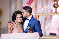 indian bride and groom,indian wedding,indian wedding reception