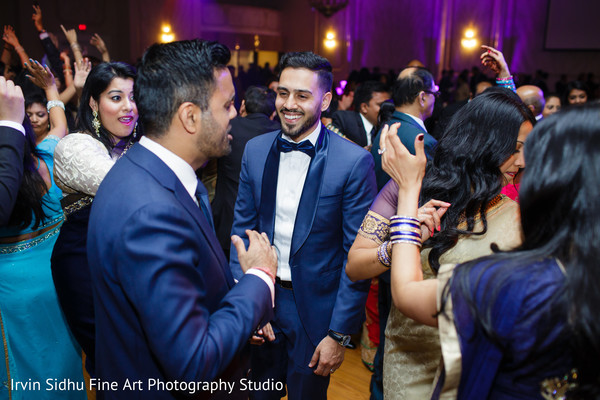 Indian groom dancing in Brampton, ON Indian Wedding by Irvin Sidhu Fine Art Photography Studio