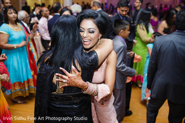 Maharani having fun at wedding reception in Brampton, ON Indian Wedding by Irvin Sidhu Fine Art Photography Studio