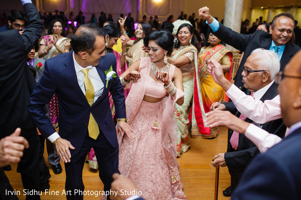 Maharani enjoying the party with guests in Brampton, ON Indian Wedding by Irvin Sidhu Fine Art Photography Studio