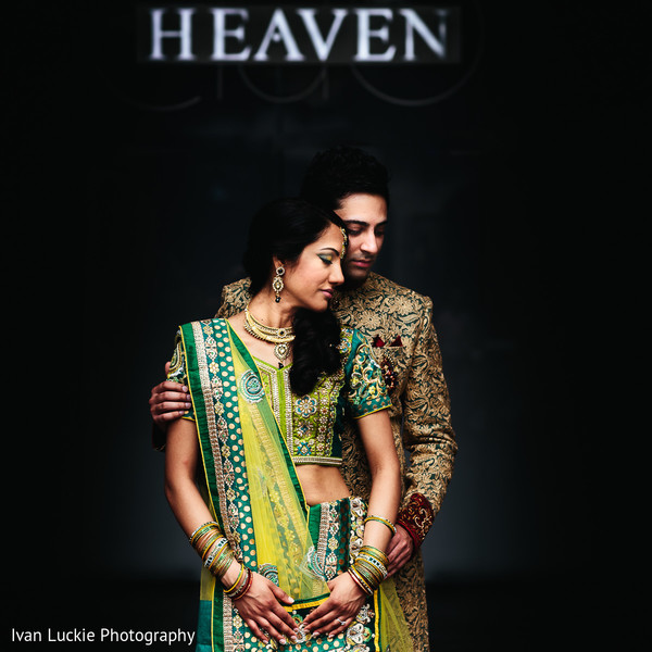 Look at this made in heaven indian engaged couple. in Playa del Carmen Playa del Carmen Destination Indian Wedding by Ivan Luckie Photography