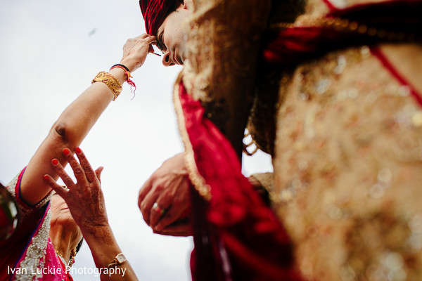 Indian Wedding Ritual in Playa del Carmen Playa del Carmen Destination Indian Wedding by Ivan Luckie Photography