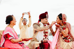 indian destination wedding,indian beach wedding ceremony