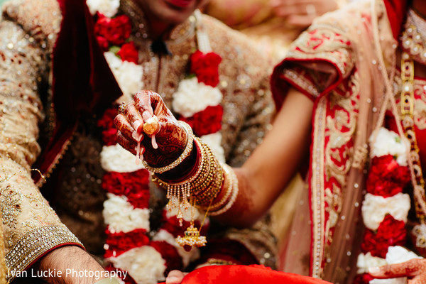 Indian wedding ceremony. in Playa del Carmen Playa del Carmen Destination Indian Wedding by Ivan Luckie Photography