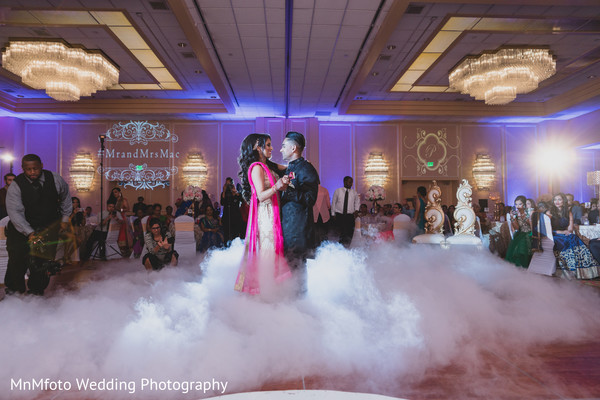 Wedding Day Portrait in Dallas, TX Indian Fusion Wedding by MnMfoto Wedding Photography