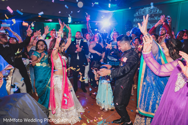 Bride and Groom in Dallas, TX Indian Fusion Wedding by MnMfoto Wedding Photography