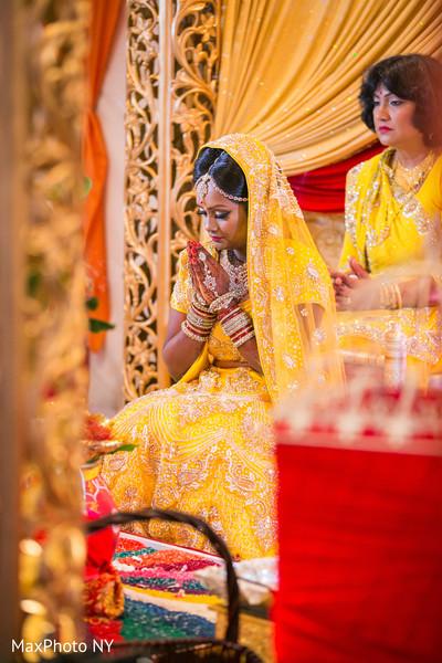 Gaye holud in Richmond Hill, NY Indian Wedding by MaxPhoto NY