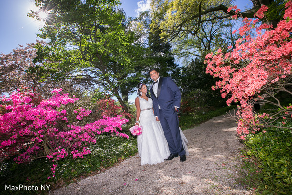 Indian wedding portraits in Richmond Hill, NY Indian Wedding by MaxPhoto NY