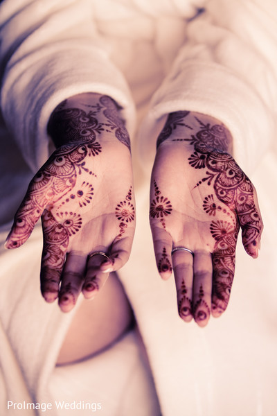 Beautiful Bridal Mehndi in Santa Barbara, CA Indian Wedding by ProImage Weddings