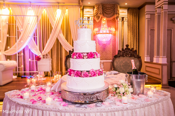 Wedding cakes in Richmond Hill, NY Indian Wedding by MaxPhoto NY