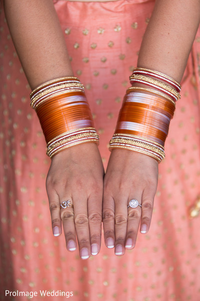 Beautiful Jewelry worn by the Bride in Santa Barbara, CA Indian Wedding by ProImage Weddings