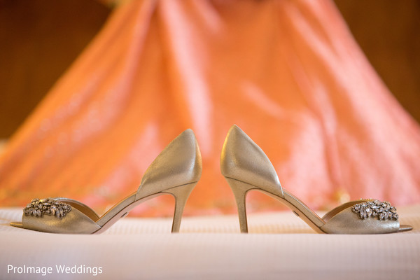 Shoes worn by the Bride in Santa Barbara, CA Indian Wedding by ProImage Weddings