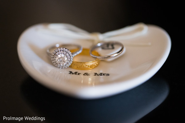 Beautiful Wedding Rings in Santa Barbara, CA Indian Wedding by ProImage Weddings