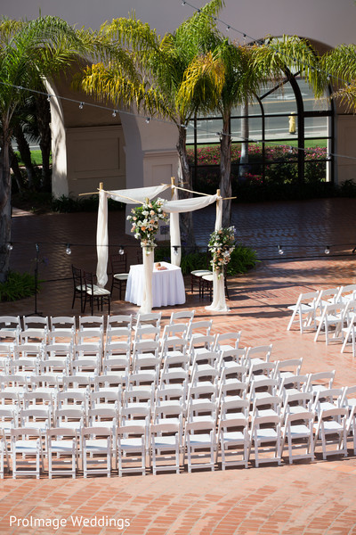 Lovely Wedding Setting in Santa Barbara, CA Indian Wedding by ProImage Weddings