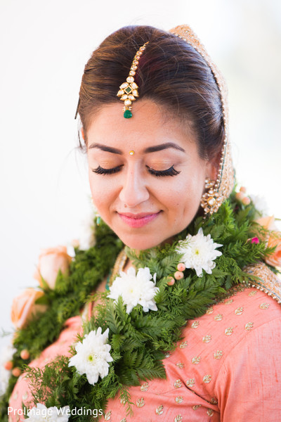Beautiful Bridal Jewelry in Santa Barbara, CA Indian Wedding by ProImage Weddings