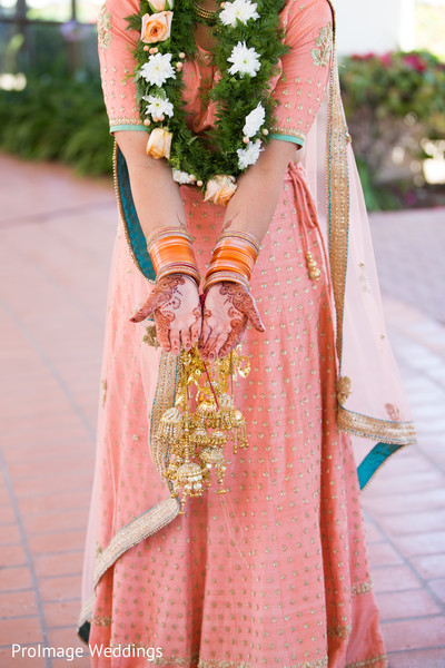 Indian Bridal Details in Santa Barbara, CA Indian Wedding by ProImage Weddings