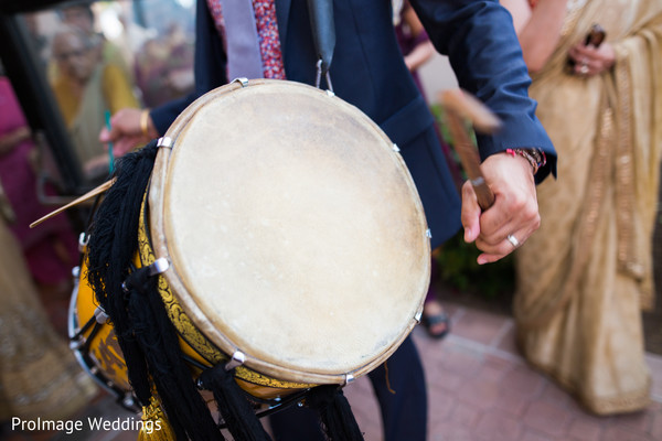 Lovely Wedding Baraat in Santa Barbara, CA Indian Wedding by ProImage Weddings