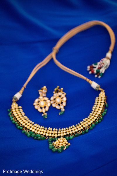 Beautiful bridal jewelry in Santa Barbara, CA Indian Wedding by ProImage Weddings