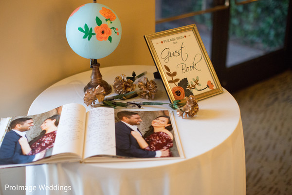 Lovely idea for a guest book to leave love notes for the indian couple in Santa Barbara, CA Indian Wedding by ProImage Weddings
