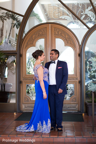 Unique photoshoot for a unique Indian couple in Santa Barbara, CA Indian Wedding by ProImage Weddings