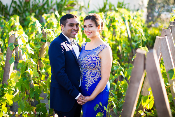 Lovely Indian couple in their pre-reception photoshoot