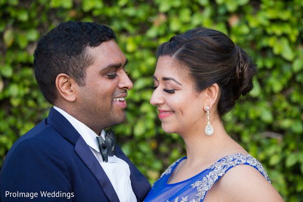 See this lovely Indian couple getting their portraits in Santa Barbara, CA Indian Wedding by ProImage Weddings