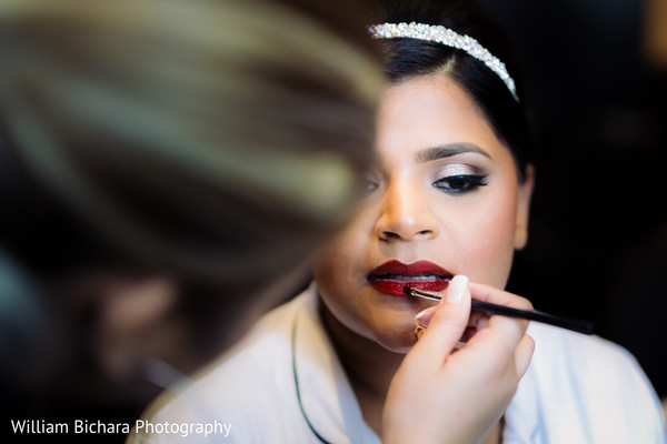 Indian Bride in Dallas, TX Indian Fusion Wedding by William Bichara Photography