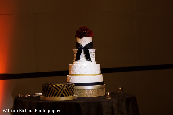 Indian Wedding Cake in Dallas, TX Indian Fusion Wedding by William Bichara Photography