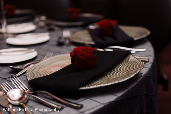 Tablescapes in Dallas, TX Indian Fusion Wedding by William Bichara Photography