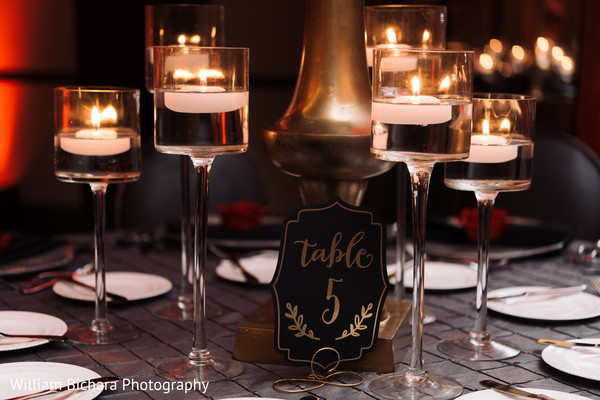 Indian Wedding Table Seating in Dallas, TX Indian Fusion Wedding by William Bichara Photography
