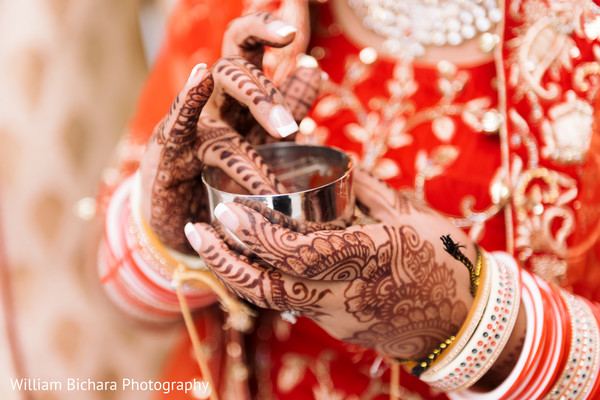 Bridal Mehndi in Dallas, TX Indian Fusion Wedding by William Bichara Photography