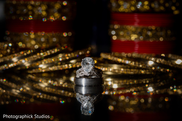 Gorgeous capture of indian wedding rings. in Alexandria, VA Indian Wedding by Photographick Studios