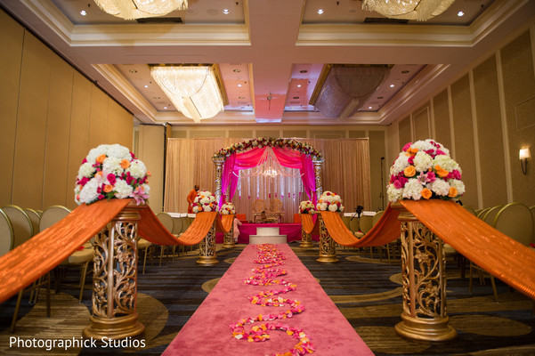 Beautiful indian ceremony venue. in Alexandria, VA Indian Wedding by Photographick Studios