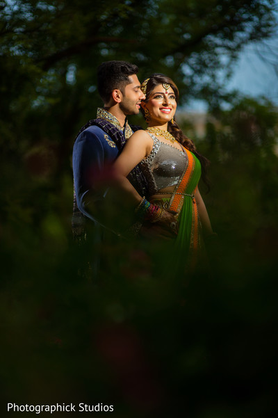 Cute indian engaged couple. in Alexandria, VA Indian Wedding by Photographick Studios