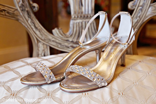 Bridal shoes in White Castle, LA Fusion Wedding by Daniel Bray Photography