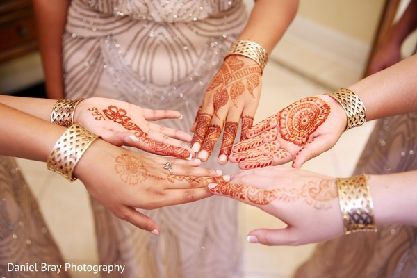 Mehndi designs in White Castle, LA Fusion Wedding by Daniel Bray Photography