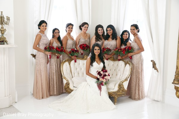 Bridesmaids in White Castle, LA Fusion Wedding by Daniel Bray Photography