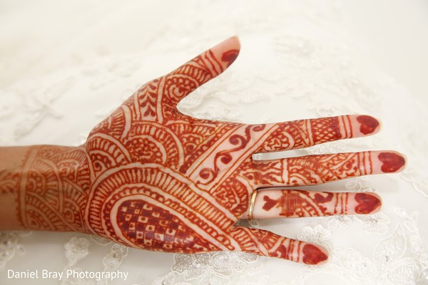 Bridal mehndi in White Castle, LA Fusion Wedding by Daniel Bray Photography