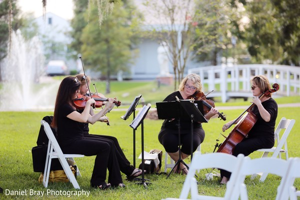 String quartet in White Castle, LA Fusion Wedding by Daniel Bray Photography