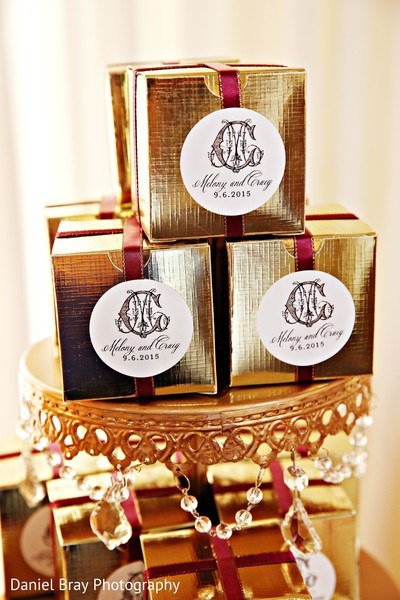 Custom wedding favors in White Castle, LA Fusion Wedding by Daniel Bray Photography
