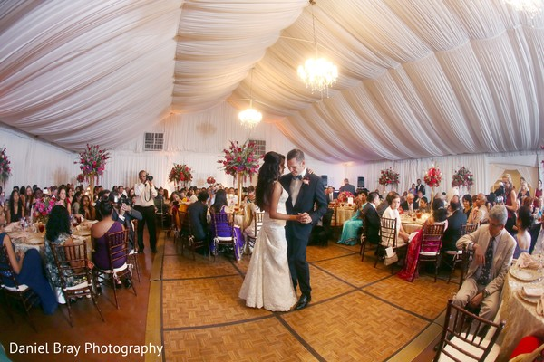 First dance in White Castle, LA Fusion Wedding by Daniel Bray Photography